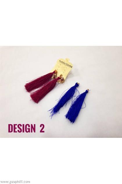2 in1 Thread  Earring Pair