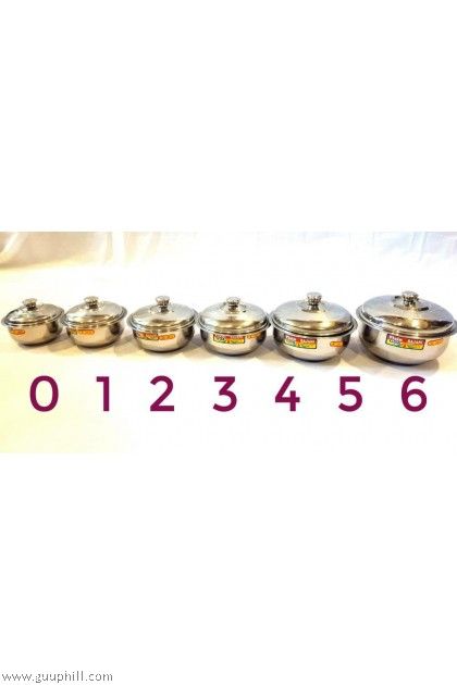 Stock Pot Food / Curry Containers G15859