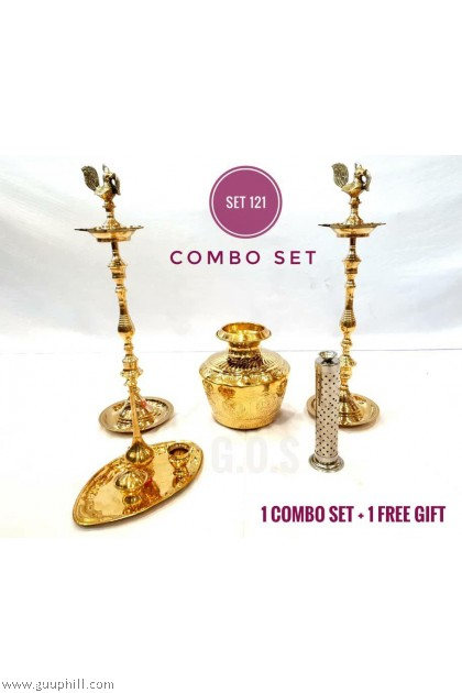 Brass Combo Set 121 With Free Gift G5965/1123/6722/15330