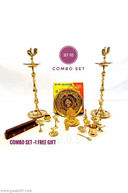 Brass Combo Set 115 With Free Gift G5771/15340/15330
