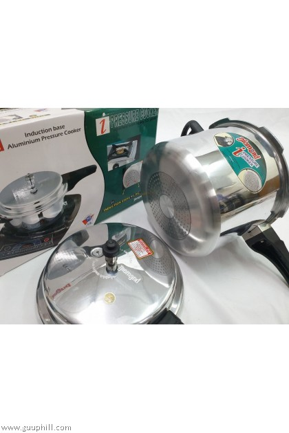 Diamond Pressure Cooker Induction Base Stainless Steel 7.5 Liter G8426