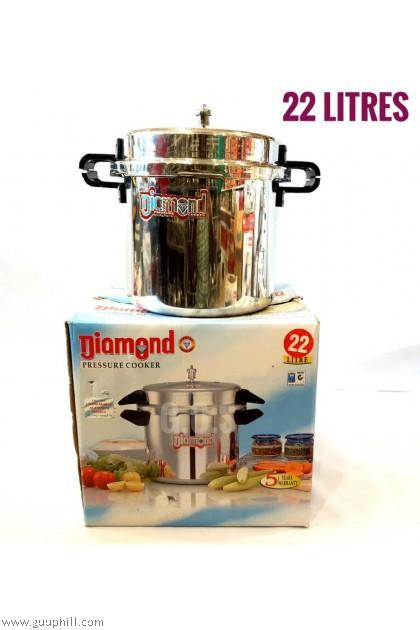 Diamond Pressure Cooker Deluxe Stainless Steel 12 Litre G16120