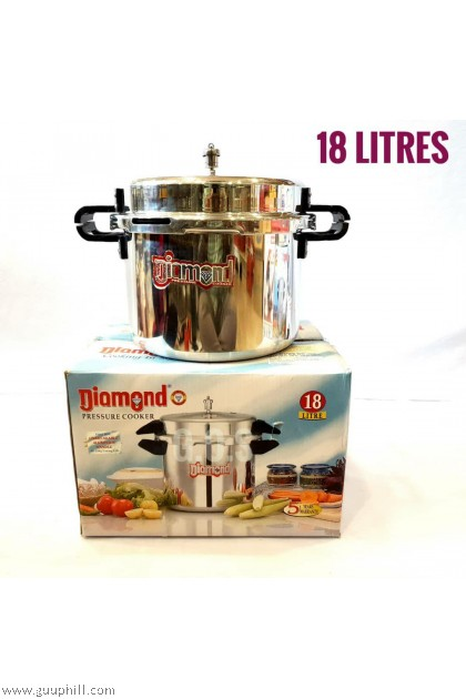Diamond Pressure Cooker Deluxe Stainless Steel 18 Litre G16119