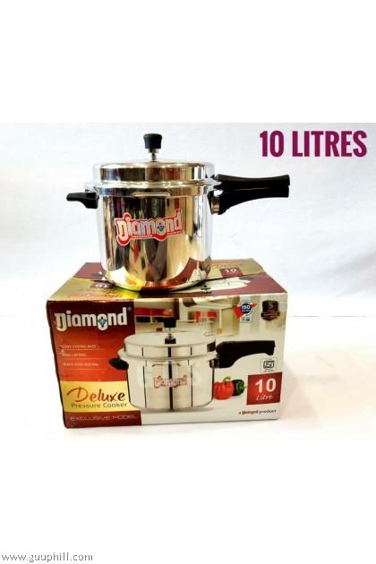Diamond Pressure Cooker Deluxe Stainless Steel 10 Litre G16122