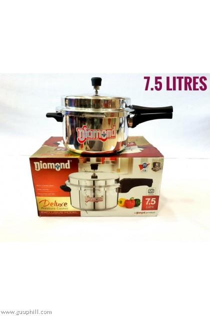 Diamond Pressure Cooker Deluxe Stainless Steel 7.5 Litre G16123