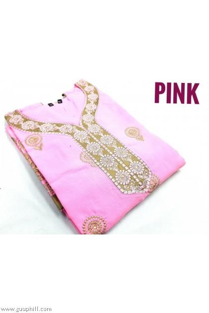 Women Punjabi Suits Readymade Size XL(42)  G5630