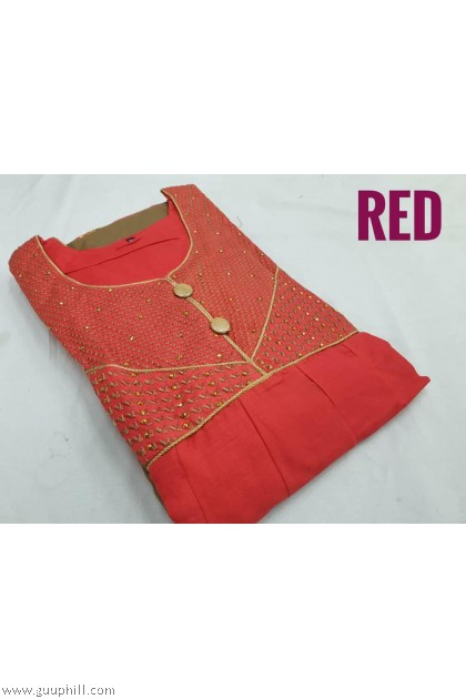 Women Punjabi Suits Readymade Size 42(XL) G589012