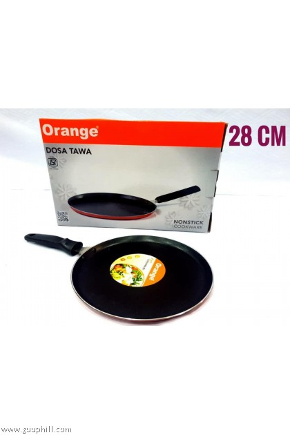 Orange Non Stick Dosa Tawa 28 cm G15998