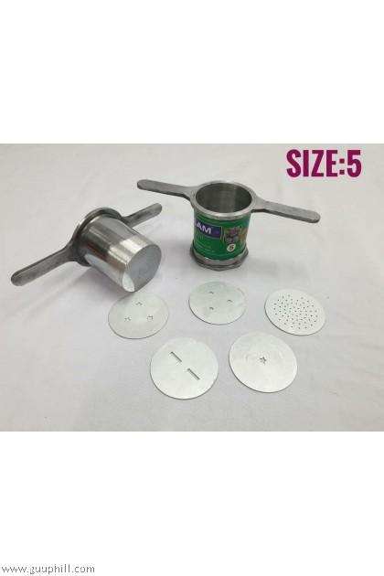 Visalam Stainless Steel Murukku Mould Size 5 G5131