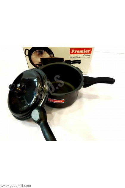 Premier Pressure Cooker Pure Black Trendy 7.5 Liter G16231