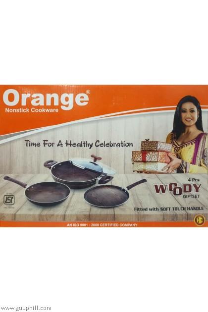Orange Non-Stick Woody Gift Set 4 in 1 G16235