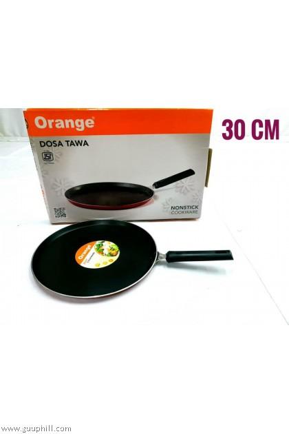 Orange Non Stick Tawa 30 cm G16233