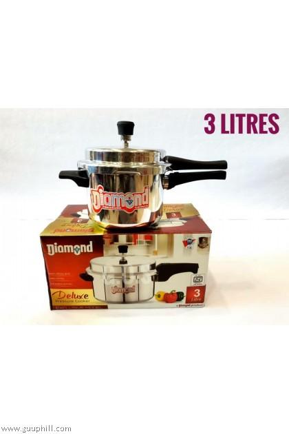 Diamond  Pressure Cooker Deluxe Stainless Steel 3 Litre G16125