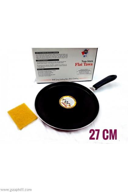 Diamond Non Stick Flat Tawa 27 cm G17101