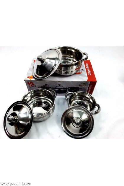 K Century Dining Pot Food Containers Stainless Steel G17103