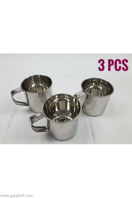 Stainless Thick Mug 3 Pcs G17143