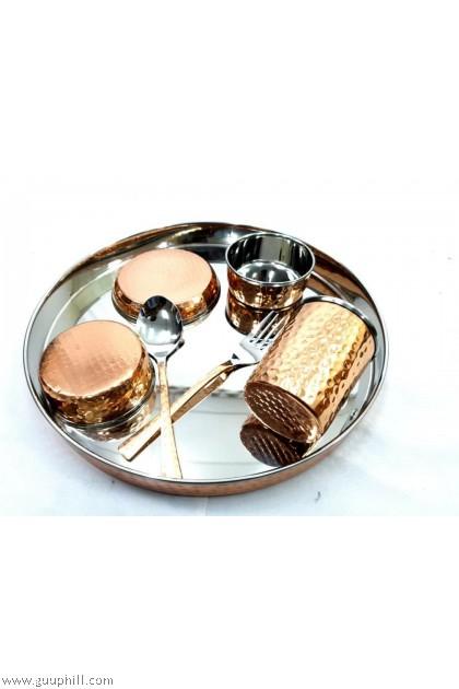 Ideal Copper Cutlery Set G17204