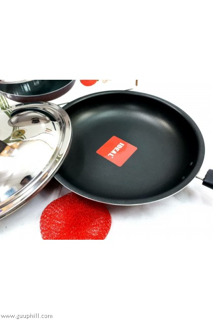 Ideal Premium Quality Non Stick Fry Pan With Lid 29 cm G17201