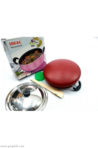 Ideal Non Stick Fish Curry Cook Pot /Meenchatty 23 cm G17217