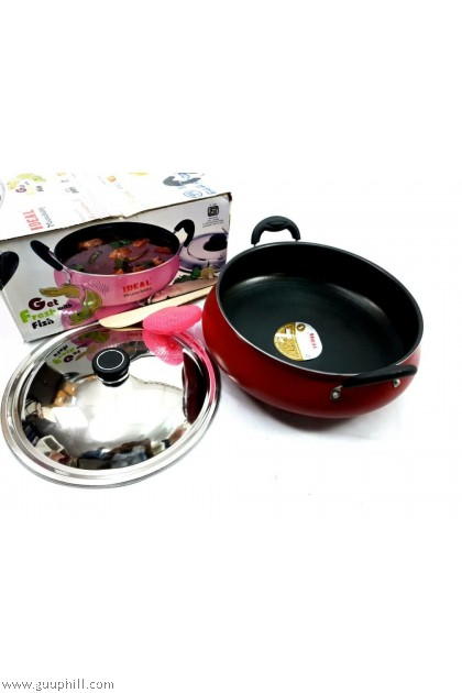 Ideal Non Stick Fish Curry Cook Pot /Meenchatty 28 cm G17218
