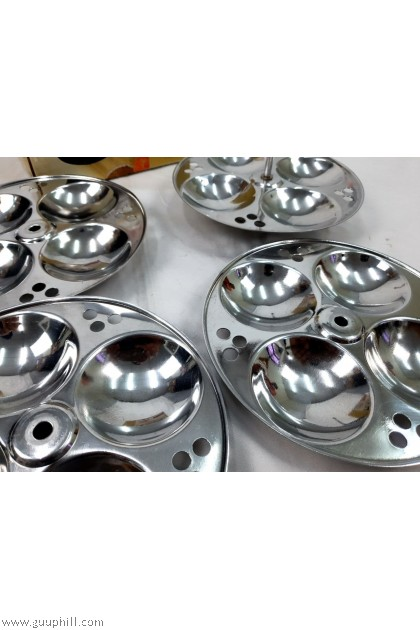 Ideal Stainless Silver Idly 4 Trays Only G17311