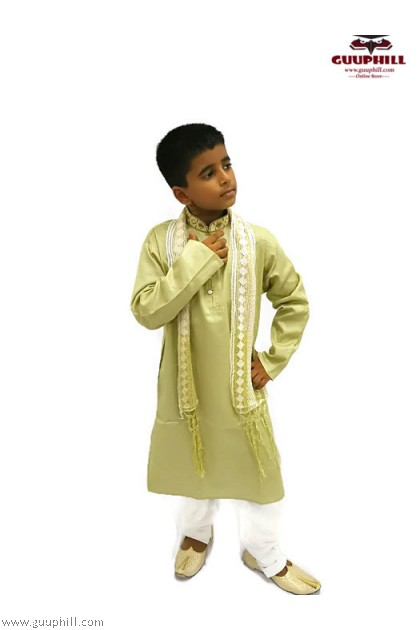 Boys Jippa Suit with Scarf