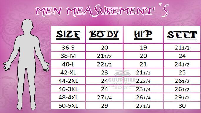 Men Measurement